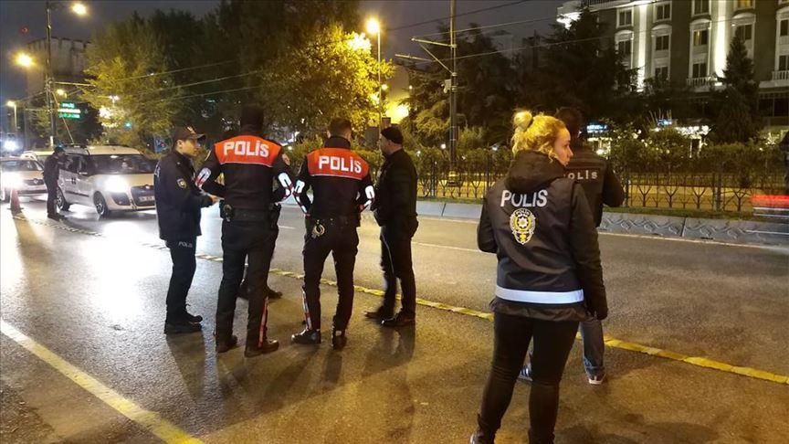 İstanbul genelinde 'Yeditepe Huzur' asayiş uygulaması yapılıyor