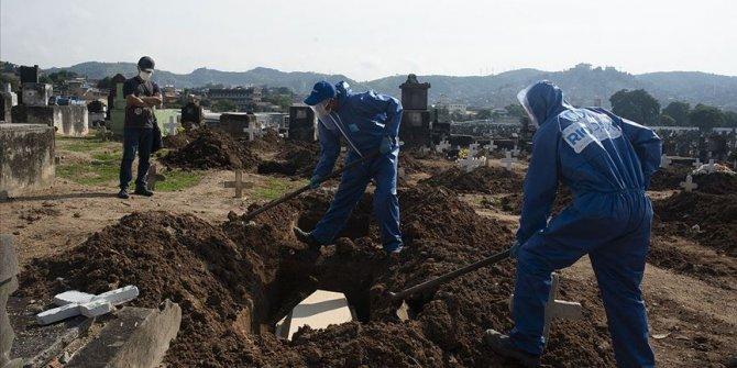 Kovid-19 nedeniyle Brezilya'da 1212, Hindistan'da 764, Meksika'da 688 kişi öldü