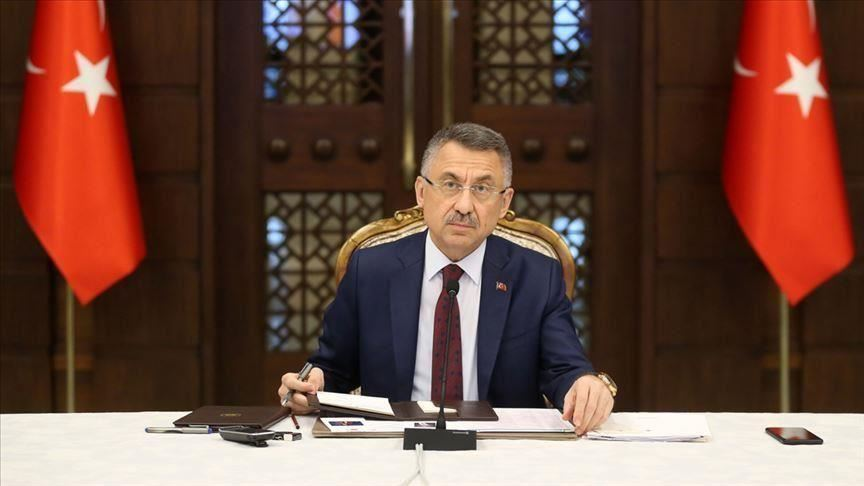 Cumhurbaşkanı Yardımcısı Oktay: Kardeş Azerbaycan ile birlikte hareket etmeye devam edeceğiz