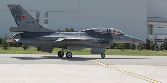 Ömrü uzatılan ilk F-16 Hava Kuvvetleri'ne teslim edildi