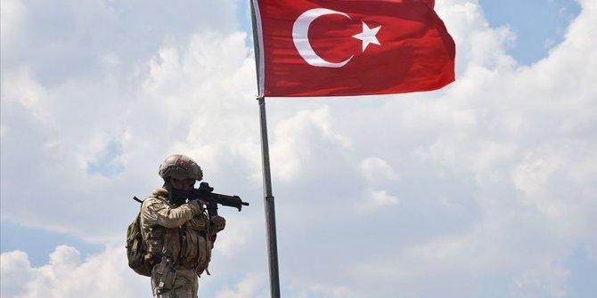 Barış Pınarı bölgesinde bir terörist etkisiz hale getirildi
