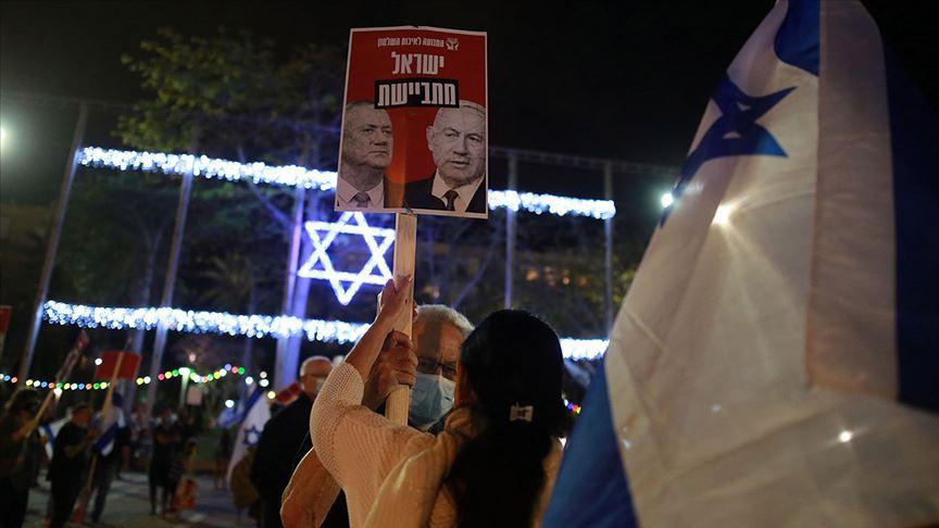 Netanyahu ile koalisyon ortağı Gantz arasında tartışma