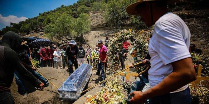 Meksika'da Kovid-19'dan 274 kişi daha hayatını kaybetti