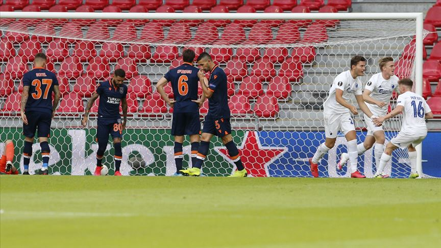 Medipol Başakşehir, Avrupa kupalarına veda etti