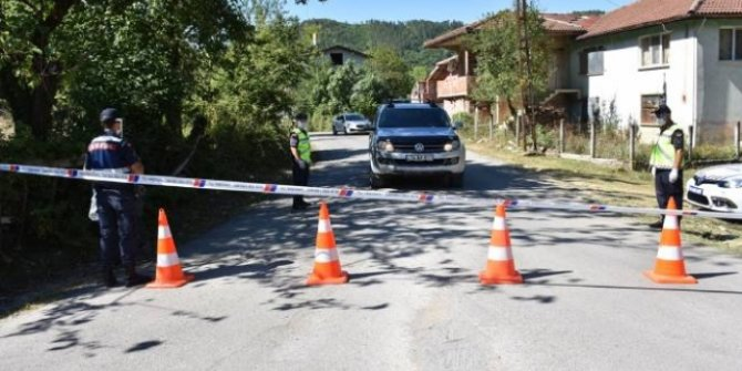 Bartın'da bir köy karantinaya alındı