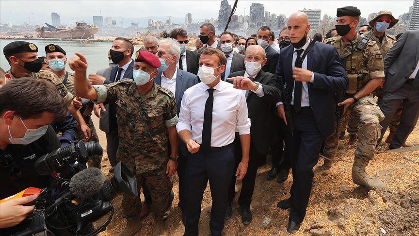 Fransa'dan Lübnan'a destek için 'uluslararası konferans' girişimi