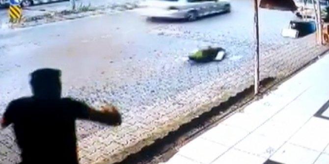 Polisin 'dur' ihtarına uymadı, kaçarken çocuğa çarptı