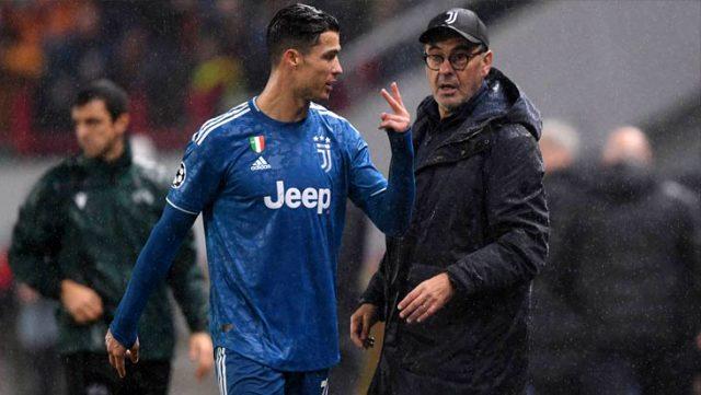 Juventus Maurizio Sarri'yi kovdu