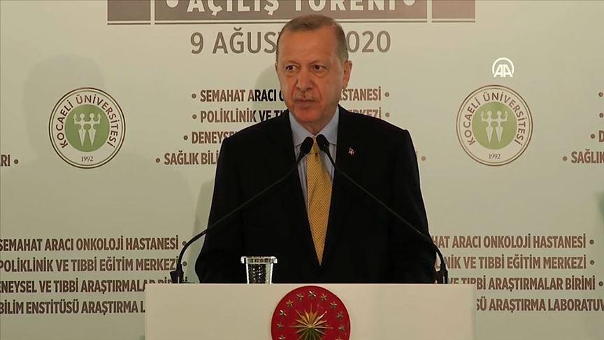 Erdoğan: Sağlık yatırımlarımızın kıymeti salgın döneminde çok iyi anlaşılmıştır