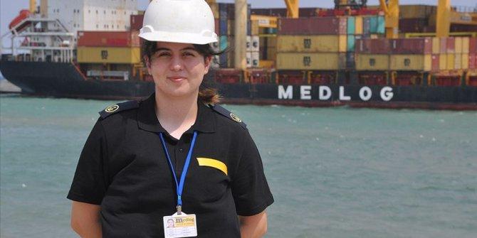 Staj yaptığı gemi haczedilince Beyrut'ta mahsur kalan öğrenci Türkiye'ye getirildi