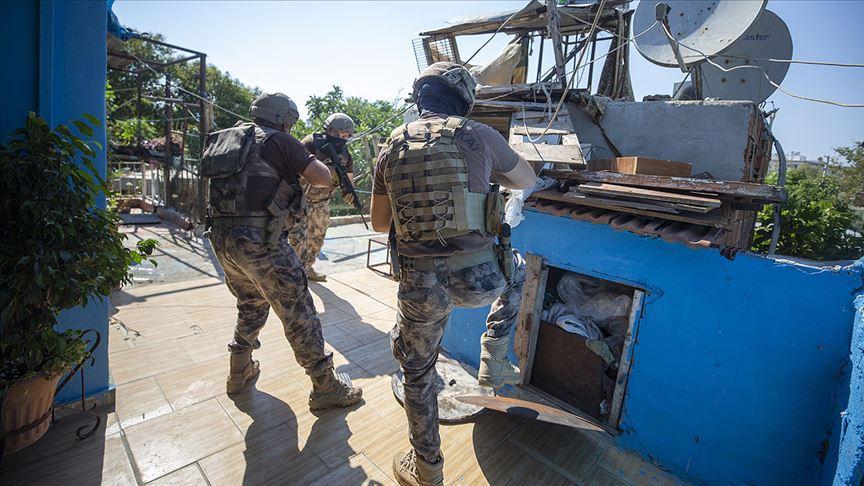 Son bir haftada uyuşturucu operasyonlarında 2 bin 353 şüpheli yakalandı