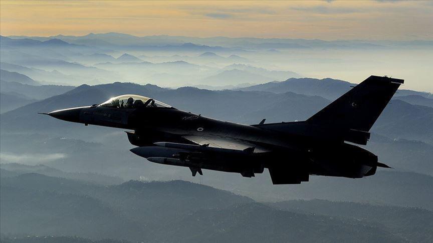 PKK'lı 3 terörist hava harekatıyla etkisiz hale getirildi