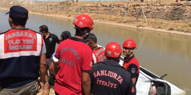 Şanlıurfa'da sulama kanalına devrilen otomobildeki 3 kardeş öldü