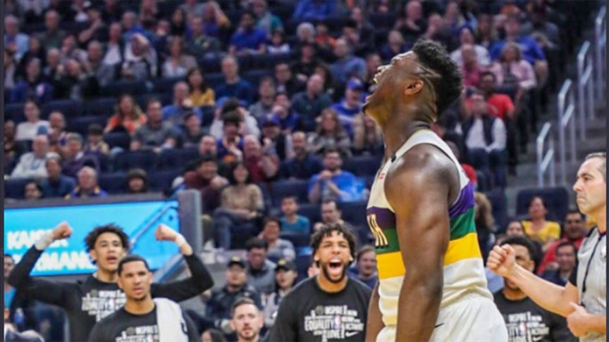 Zion Williamson, LeBron James'in tahtına aday