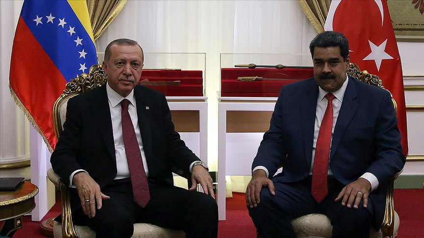 Erdoğan Venezuela Devlet Başkanı Maduro ile telefonda görüştü