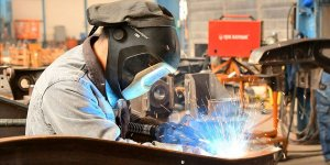 Sanayi üretim endeksi yıllık bazda yüzde 9 yükseldi