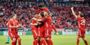 UEFA Süper Kupa Bayern Münih'in