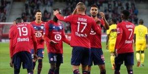 Burak Yılmaz Lille formasıyla ilk golünü attı