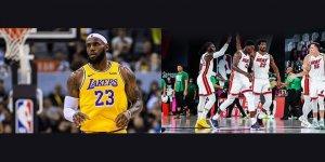 Heat 4'üncü, Lakers 17'nci NBA şampiyonluğu peşinde