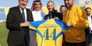 Bakan Tüfenkci, Katar'da El Gharafa SC takımını ziyaret etti