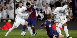 Seyircisiz El Clasico'nun galibi Real Madrid