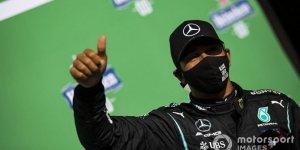 Hamilton, F1 tarihine geçti