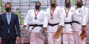 Milli judocu Kayra Sayit'ten altın madalya