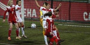 A Milli Kadın Futbol Takımı Rusya'ya deplasmanda 4-2 yenildi