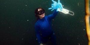 Milli dalışçı Şahika Ercümen Şanlıurfa'da 'Sıfır Atık Dalışı' yapacak