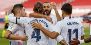 Real Madrid evinde farklı galip geldi