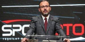 Bakan Kasapoğlu: Var gücümüzle çalışıyoruz