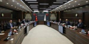 Bakan Elvan'ın ev sahipliğinde 6 bakan 'ekonomi ve reform' gündemiyle bir araya geldi