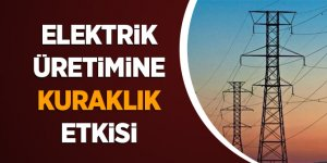 Kuraklık, Elektrik Üretimindeki Payları Değiştirdi