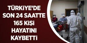 Türkiye'de son 24 saatte 165 kişi hayatını kaybetti