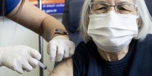 Başkentte 80 yaş ve üstündekilere Kovid-19 aşısı yapılmaya başlandı