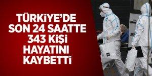 Türkiye'de Son 24 Saatte 343 Kişi Hayatını Kaybetti