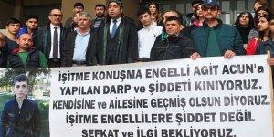 Adana'da engelli gencin darbedilmesine ilişkin davada karar
