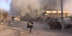 İdlib'de savaş uçakları bombardıman yaptı!7 ölü, 10 yaralı
