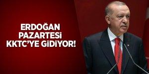 Erdoğan pazartesi KKTC'ye gidiyor