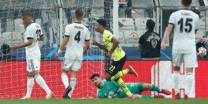 Beşiktaş Borussia Dortmund'a yenildi