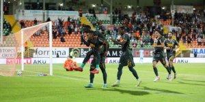 Alanyaspor, Kayserispor'a gol olup yağdı