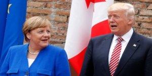 Merkel ve Trump'tan 'Putin' görüşmesi