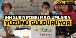 İHH'nın Suriye'deki yardım faaliyetleri saymakla bitmiyor