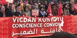 """""""Vicdan Konvoyu"""" Suriyeli kadınların sesini duyurmak için Ankara'da"""