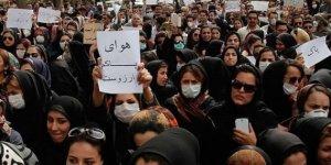 İran'da gösteri düzenlemek isteyen kadınlara müdahale