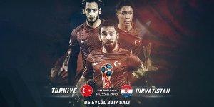 Türkiye-Hırvatistan maçının ilk 11'leri