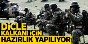 Mehmetçik Dicle Kalkanı için hazırlıklara başladı