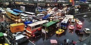 İstanbul'da maç trafiği