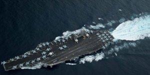 ABD uçak gemisi Güney Çin Denizi'nde
