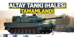 Altay tankı ihalesi tamamlandı